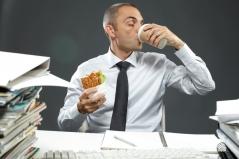 eat at desk