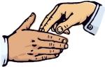 Fingertip Handshake